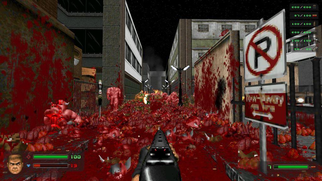 Brutal Doom v21 RC8 (Последняя) скачать торрент на компьютер