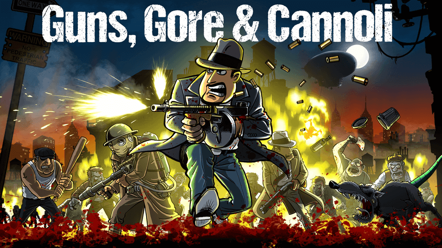 Guns, Gore and & Cannoli