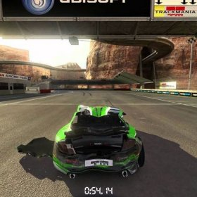 TrackMania 2 Canyon 2