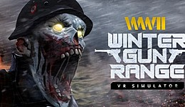 World War 2 Winter Gun Range VR Simulator